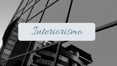 Categoría Interiorismo